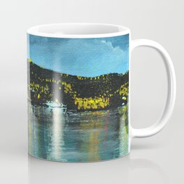 St Thomas at Night Coffee Mug