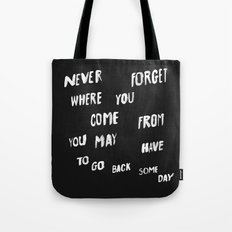 NEVERFORGET Tote Bag