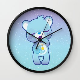 Bedtime bear Wall Clock