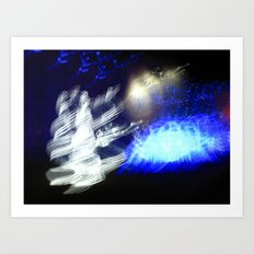 Snow Queen Disco Art Print
