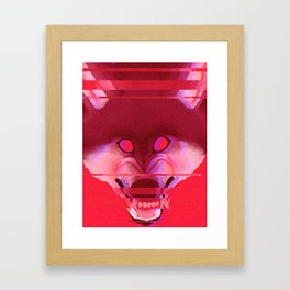 terror byte Framed Art Print