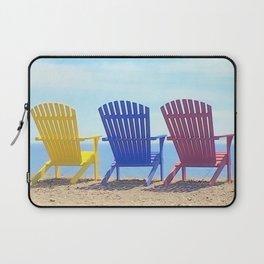 Adirondack Beach Chairs Laptop Sleeve