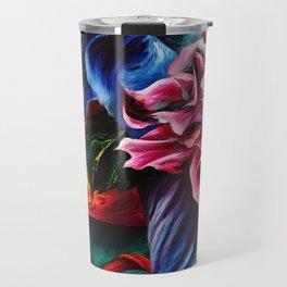 """Flowers"" Painting Travel Mug"