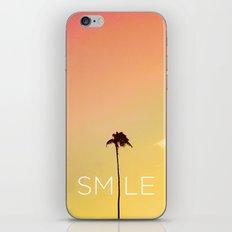 Palm Tree Smile new Hue iPhone & iPod Skin