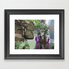 Worth Two In The Bush Framed Art Print
