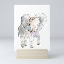 Sweet Baby Elephant Mini Art Print