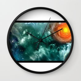 Conquest of Space Wall Clock