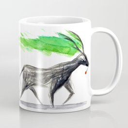 dark deer Coffee Mug