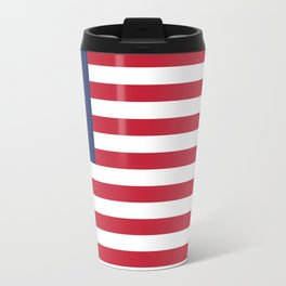 Betsy Ross flag - Authentic color and scale Travel Mug
