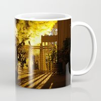 gothic Mugs featuring Gothic Gate by lightpainter