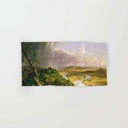 The Oxbow (Connecticut River near Northampton) by Thomas Cole Hand & Bath Towel