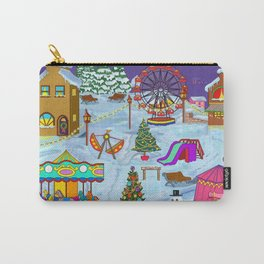 Christmas Fairground Carry-All Pouch