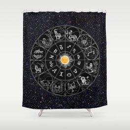Teletubbies Sun Moon Shower Curtain