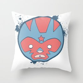lucha! Throw Pillow