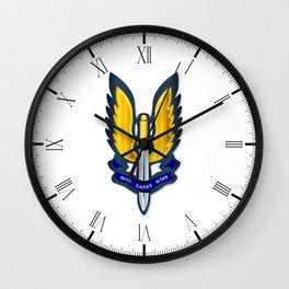 Special Air Service Badge Wall Clock