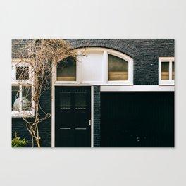 Nieuwmarkt - Amsterdam, The Netherlands -#3 Canvas Print