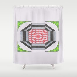 More haste less speed Shower Curtain