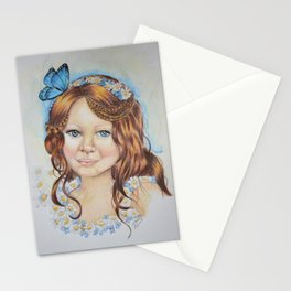 Little flower fairy Stationery Cards