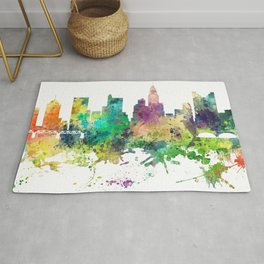 Columbus, Ohio skyline SP Rug