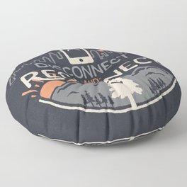 Reconnect... Floor Pillow