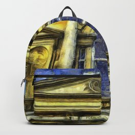 Roman Bath Van Gogh Backpack