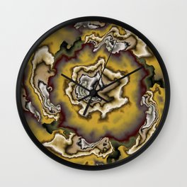 Turbulence in CMR 00 Wall Clock