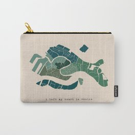 I Left My Heart in Venice Carry-All Pouch