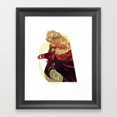 Something Bad Framed Art Print