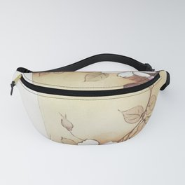 Japanese Flower Pitcher by Noritake Factory  Fanny Pack