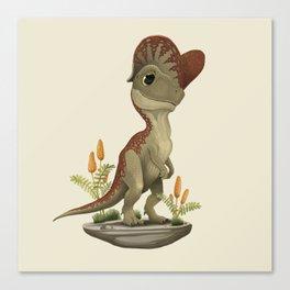 Dilophosaurus Canvas Print