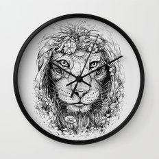 King of Nature Wall Clock