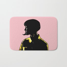 Katy Portrait Art - Inspired by Music Video - This Is How We Do  Bath Mat
