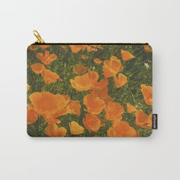 California Poppies 002 Carry-All Pouch