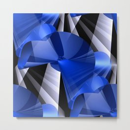 3D abstraction -03- Metal Print