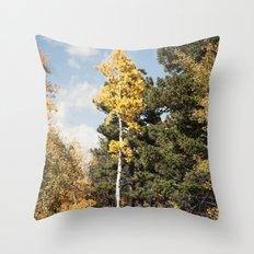 Skinny Aspen Throw Pillow