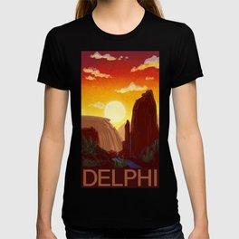 Sixty-Four: Delphi Travel Poster T-shirt
