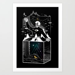 Existential Isolation Art Print