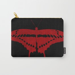 Textured butterfly Carry-All Pouch