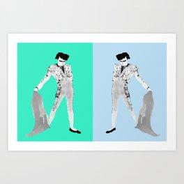 POMPADOUR Doubles Art Print