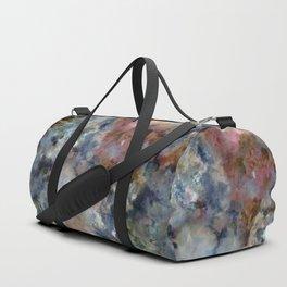 Colorful watercolor nebula onyx Duffle Bag