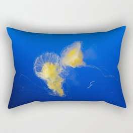 The Majestic Jellyfish Rectangular Pillow