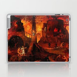 Red Hellish Landscape Laptop & iPad Skin