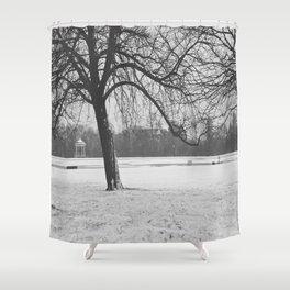 Early Morning Stillness  Shower Curtain
