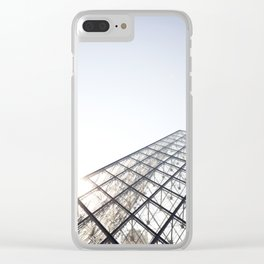 Peak of the Louvre Clear iPhone Case