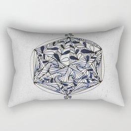 HexaCircle 8 Rectangular Pillow