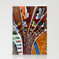 runner Stationery Cards featuring Runner by LeicaCologne Germany