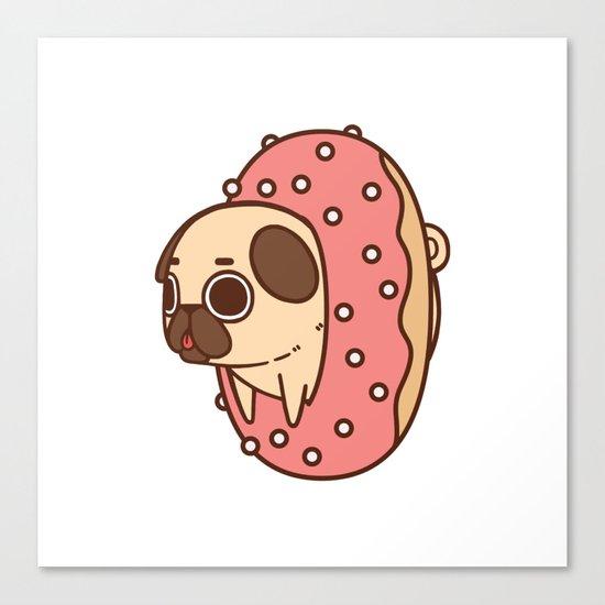 Puglie Doughnut Canvas Print