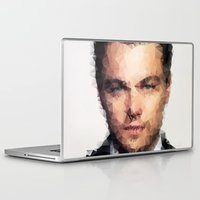 leonardo Laptop & iPad Skins featuring Leonardo DiCaprio by lauramaahs