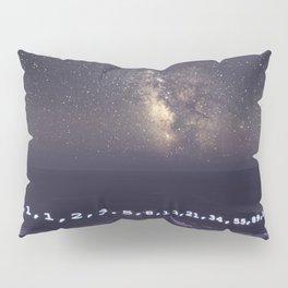 Fibonacci Sequence under the Stars Pillow Sham