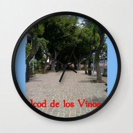 Icod de los Vinos   (A7 B0014) Wall Clock
